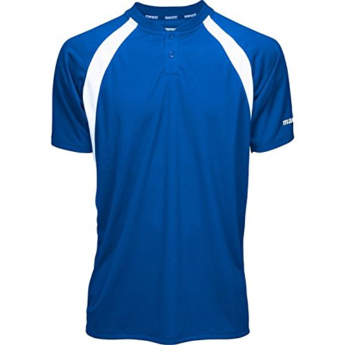 (Marucci Adult Two-Button Performance Baseball Jersey)