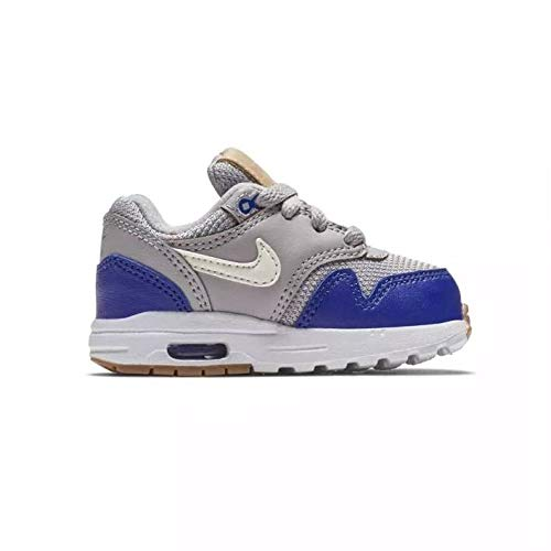 brand new 21444 913ca NIKE Unisex Kids  Air Max 1 (td) Fitness Shoes, Multicolour (Atmosphere