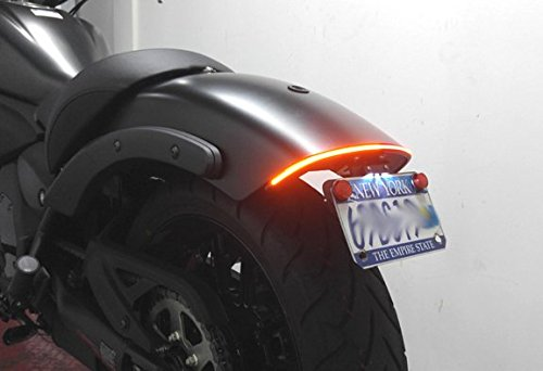 Kawasaki Vulcan S Fender Eliminator Integrated Led Taillight Kit Brake And Turn Signals Clear Lens