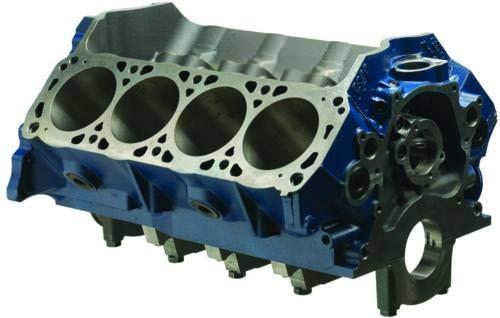 Engine, Boss 351, Bare Block, 3.990 in Bore, 9.200