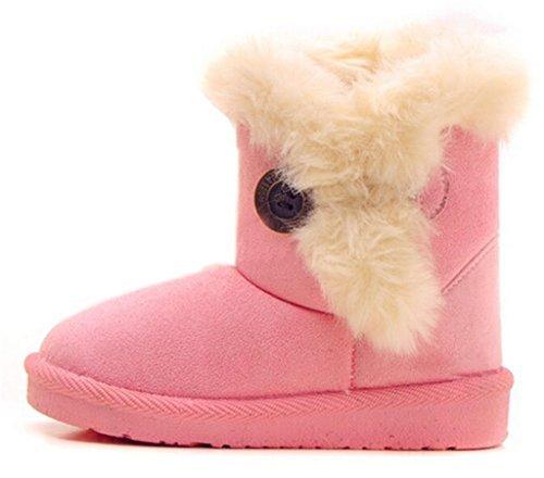 Bailey Boys Bunny (Jeleuon Baby Little Boy Girl Winter Bailey Button Snow Boots)