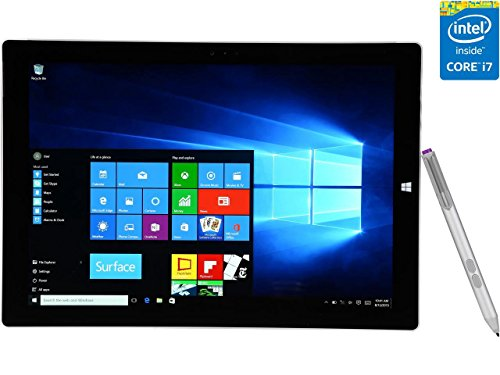 Microsoft Surface Pro 3 512 GB, Intel Core i7, Windows 8.1 - with Windows 10 Upgrade by Microsoft