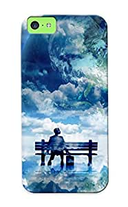 Graceyou Protection Case For Iphone 6 (4.5) / Case Cover For Christmas Day Gift(bench In The Clouds)