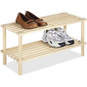 whitmor wood household shelves 2 tier
