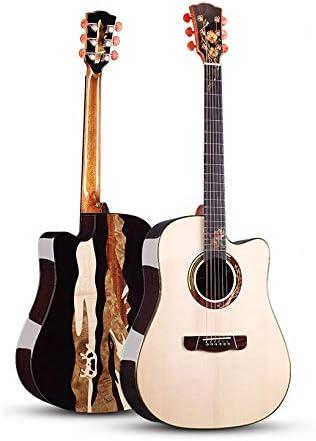 QING.MUSIC Guitar Guitarra acústica, Principiante, Color Madera,Summer,41inch: Amazon.es: Deportes y aire libre