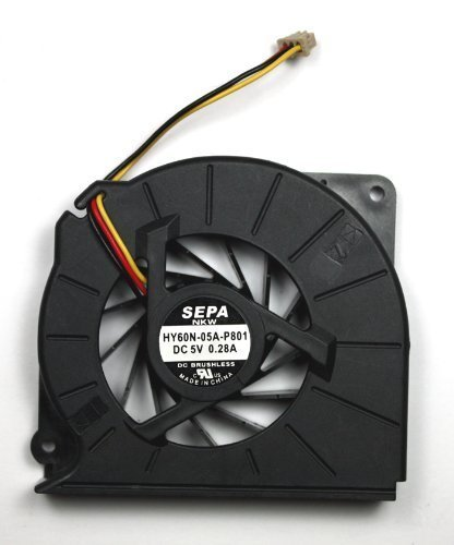3CTOP CPU Cooling Fan for Fujitsu LifeBook N6410 N6420 N6460 N6470 S7110 T4215 T5500 T2050 MCF-S6055AM05B Series