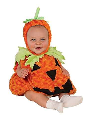Rubie's Baby Pumpkin Costume, Multicolor Infant (USA 1-2) -