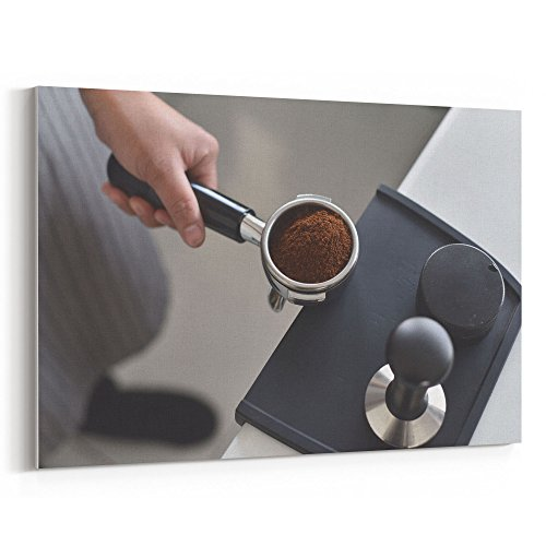 (Westlake Art - Coffee Espresso - 5x7 Canvas Print Wall Art - Canvas Stretched Gallery Wrap Modern Picture Photography Artwork - Ready to Hang 5x7 Inch)