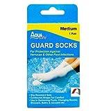 AquaSafe Verruca Guard Socks for Swimming - Medium - Size 3 - 5