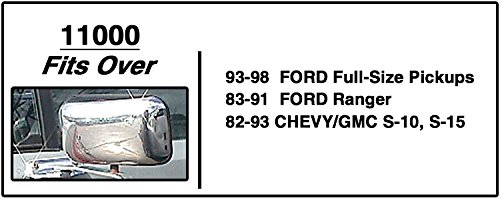 Fits Driver//Passenger Side CIPA 11000 Ford//Chevrolet//GMC Custom Towing Mirror