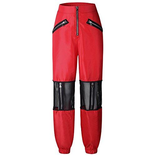 Sportwear Harem Da Red Pantaloni Jogging Donna Ew4YqxxF
