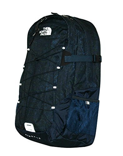 The North Face Women Classic Borealis Backpack Student School Bag URBAN NAVY PRINT