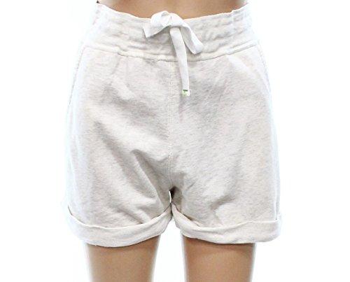 Honeydew Women's Drawstring Sleep Shorts White Ivory XL