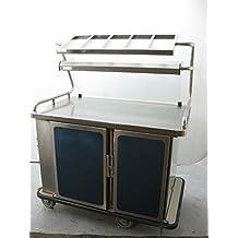 Burlodge Multigen 2 Food Service Cart M22.700 Refrigeration & Food Warmer 120V