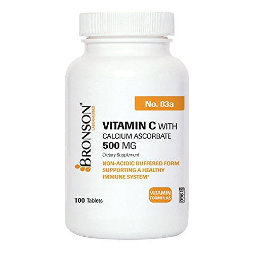 UPC 716563083014, Bronson Labs: Vitamin C - 500 Mg. (Buffered) 100 Tablets