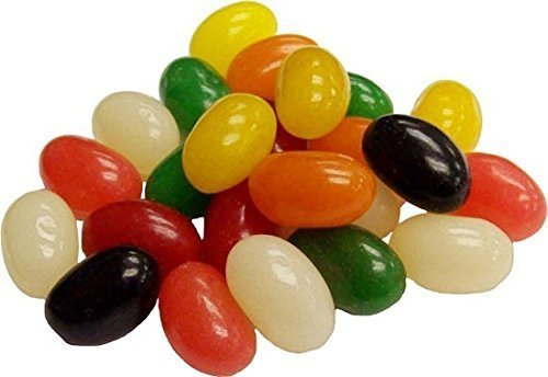 Jumbo Spiced Jelly Beans - 5 Pounds HUGE BAG Bulk Spicy Jell
