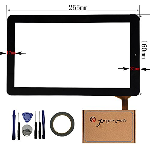 pcspareparts LYSB0113VAMW0-ELECTRNCS Replacement Digitizer Touch Screen Panel for RCA 10 Viking Pro 2-in-1