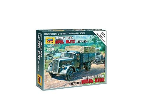 german-opel-blitz-truck-1937-44-snap-kit-1-100-zvezda