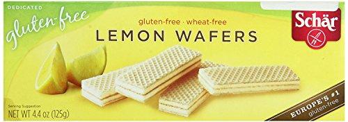 Gluten Dr Schar Free (Dr. Schar Lemon Wafers, 4.4oz, Pack of 6)