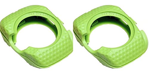 SPEEDPLAY Walkable Cleats REPLACEMENT Covers for ZERO AERO (Team Green)