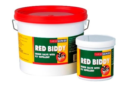 Farmsense Red Biddy Udder Salve with Fly Repellent x Size  2.5 Kg