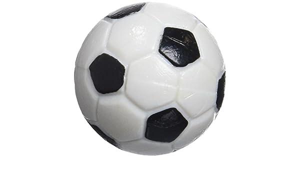 Gamesson Bolas de futbolín (4 Unidades) - Negro/Blanco, 32 mm: Amazon.es: Deportes y aire libre