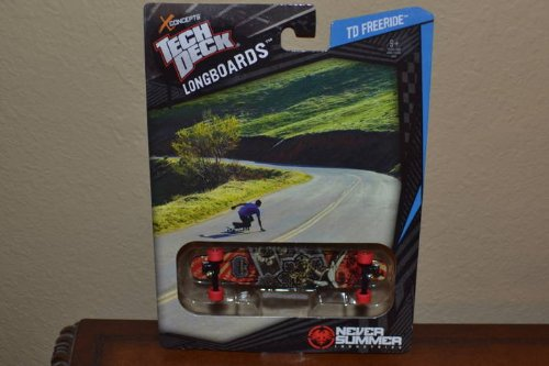 2012 Tech Deck XConcepts Longboards TD Freeride Never Summer Iron Eagle Design (Set 20055460)