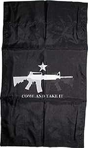 12x 18negro Texas TX M4Come y Take It funda de poliéster de doble cara bandera de Jardín