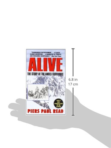 "survival and cooperation in alive by piers paul read Psychologist links andes crash and survival story to human evolution in new book  survival story mainly taken from the books ""alive: the story of the andes survivors"" by piers paul read and."