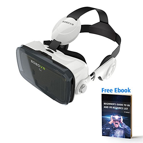 3D VR Virtual Reality Headset Simmper Z4 3D VR Glasses Helmet with Headphone for 4.5-6.0 Inches Android Smartphones IOS iPhone5 6s Plus, Samsung S5 S6 Edge, LG G3 G4