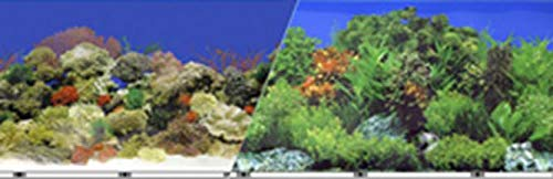 bluee Ribbon Pet Products ABLVSB1519 Decorative Reef Background for Aquarium, 19-Inch 50-Feet