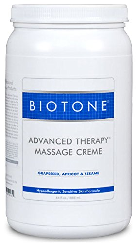 Biotone Advanced Therapy Massage Creme, 64 Fluid Ounce by Biotone