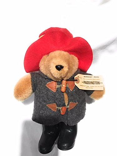 Paddington Bear 31st Anniversary With Grey Coat and Rubber Boots Plush Doll from Paddington Bear