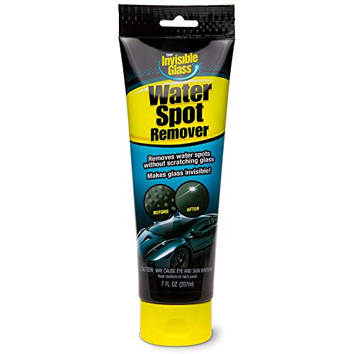 Invisible Glass 95310 Water Spot Remover - Water Spot Cleaner for Windshields, Windows, Shower Doors, Chrome, Boats and More, Easily Removes Hard Water ()