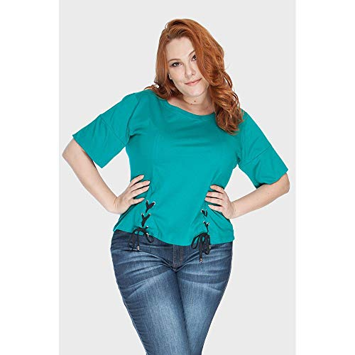 Camiseta Astana Plus Size Verde-64