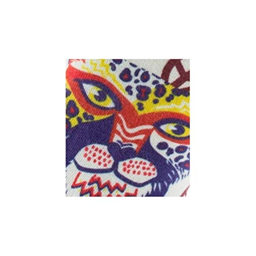 Achile Motif En Beige Coton Imprimées Tigre Chaussettes rSwqvEr