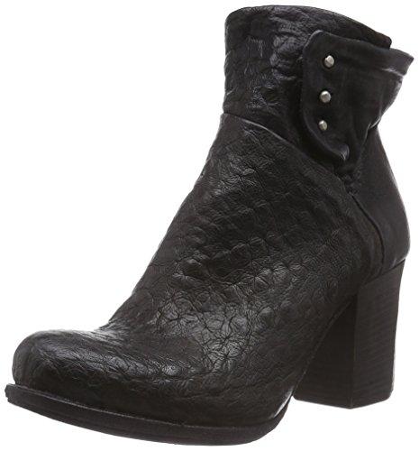 A.S.98 507216-0301-6002 - botas de piel mujer negro - negro