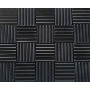 Amazon.com: Soundproofing Acoustic Studio Foam - Wedge ...
