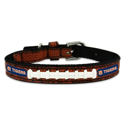NCAA Auburn Tigers Classic Leather Football Collar, Toy