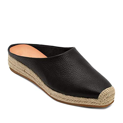 - Womens Closed Toe Espadrille Wedges Mules Shoes Sandals Slip On Backless Slides Loafers