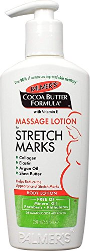 Palmer's Cocoa Butter Formula Massage Lotion For Stretch Marks with Vitamin E and Shea Butter Women Body Lotion, 8.5 Ounce (Pack of 2)