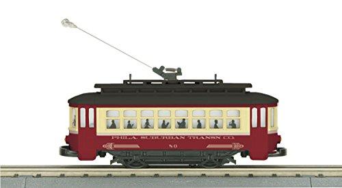 MTH 30-5143 Philadelphia Bump-n-Go Trolley