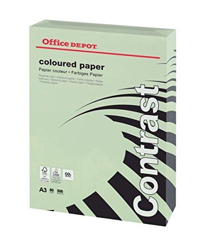 Office Depot Farbiges Farbiges Farbiges Kopierpapier DIN A3 80 g m² Pastell Grün 500 Blatt B00IO21H0I | Speichern  | Hohe Qualität  | Düsseldorf Online Shop  97e322