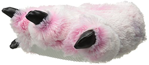 Wishpets Stuffed Animal - Soft Plush Toy for Kids - Pink Furry Tiger Slippers