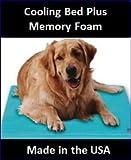 SoothSoft 1824D/2436D/3648D Canine Cooler Pet Bed Size: Medium (24″ L x 36″ W), My Pet Supplies