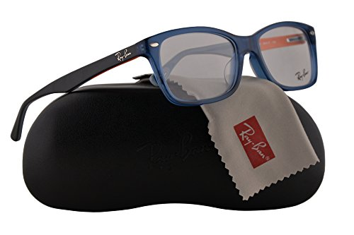 d1f40a4d4c Ray-Ban RX5228F Eyeglasses 55-17-140 Blue w Demo Clear Lens 5547 RB5228 ...