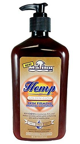 Malibu Hemp Golden Glow Skin Firming Bronzing Moisturizer 18oz Lot of (Bronzing Body Moisturizer)