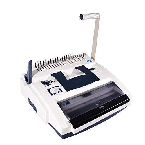 (DSB CW-350 Binding Machine 3:1 Wire & Plastic Comb Combo Punch)