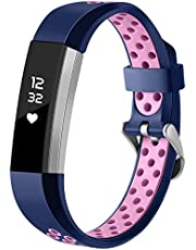 HUMENN For Fitbit Alta HR Strap, Adjustable Replacement Sport Accessory Wristband Strap for Fitbit Alta HR/Fitbit Alta/Fitbit Kids Ace Fitness Tracker Small Large, Multi Colours