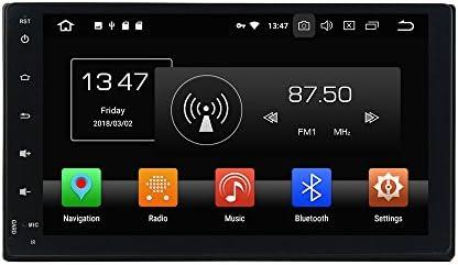 KUNFINE Android 9.0 8核自動車GPSナビゲーション マルチメディアプレーヤー 自動車音響 トヨタ TOYOTA Fortuner 2016 2017 自動車ラジオハンドル制御WiFiブルースティスト